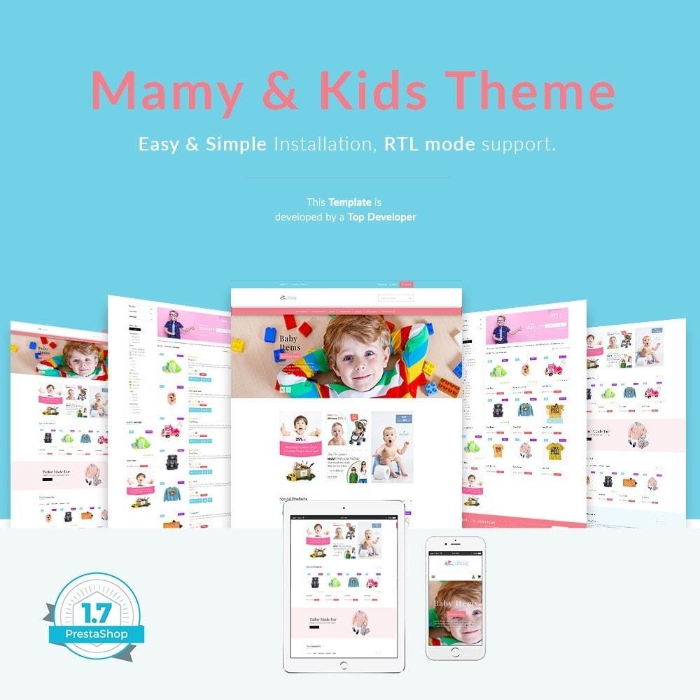 theme - Crianças & Brinquedos - Mamy and Kids - 1
