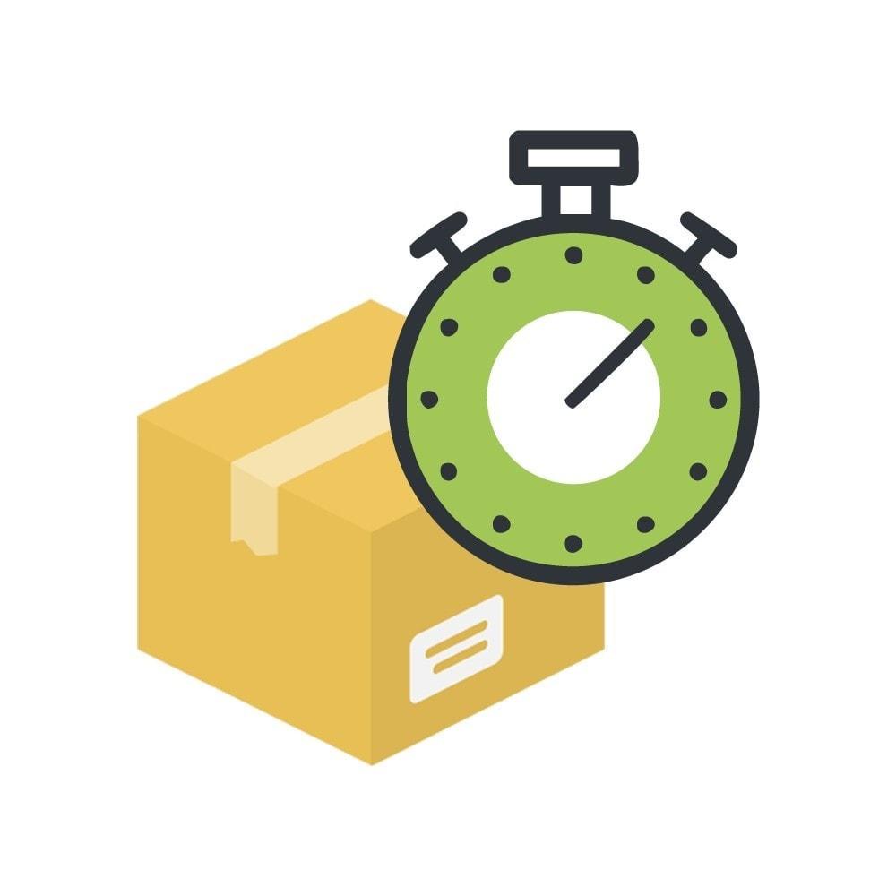 module - Date de livraison - Date d'expédition avec minuteur, compte à rebours - 1