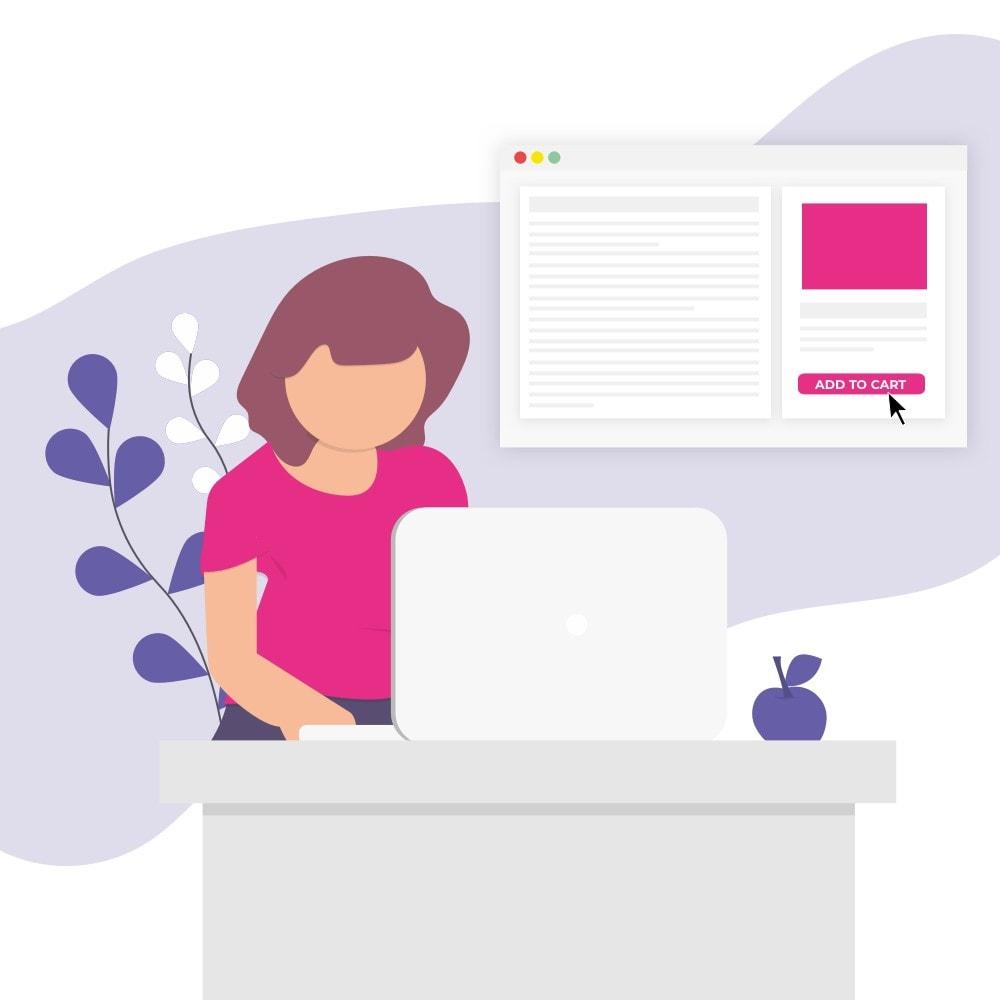 module - Blog, Foro y Noticias - Buy Button Premium - 1