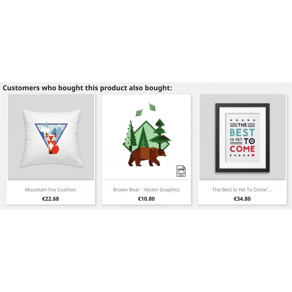 module - Ventes croisées & Packs de produits - Cross-selling - 2