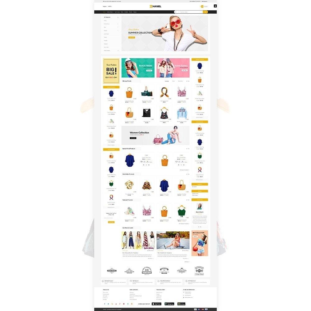 theme - Home & Garden - Chanel - Stylish Fashion Cloth Shop - 2