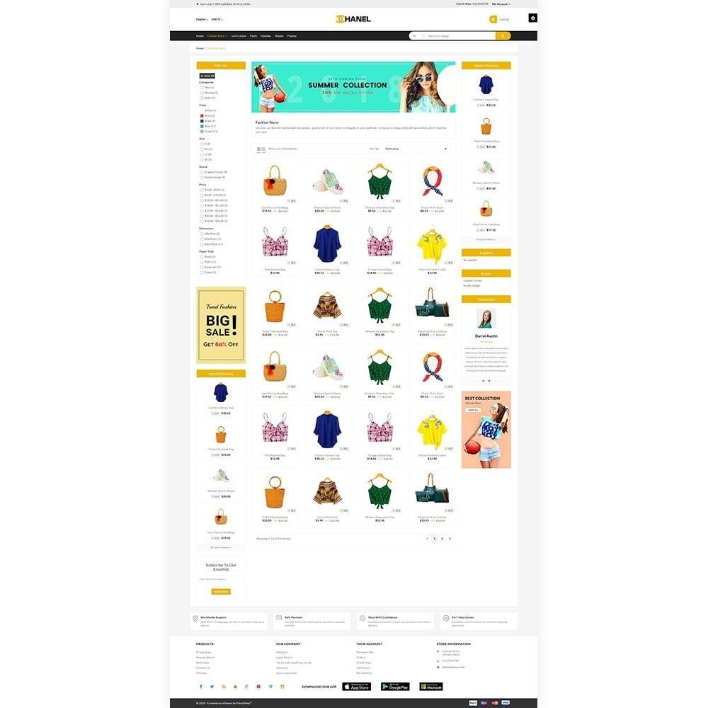 theme - Home & Garden - Chanel - Stylish Fashion Cloth Shop - 3