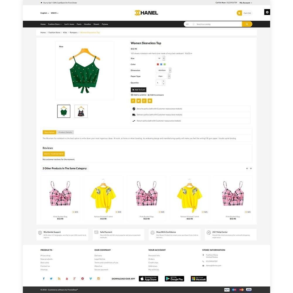 theme - Home & Garden - Chanel - Stylish Fashion Cloth Shop - 5