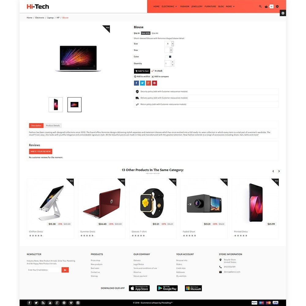 theme - Electronics & Computers - Hi Tech - Electronic Digital Shop - 5