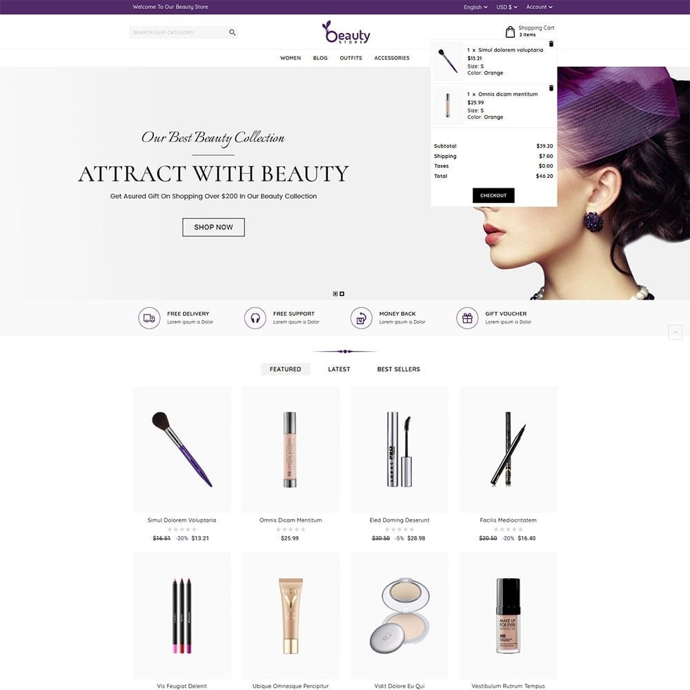 theme - Health & Beauty - Beauty Store - 3