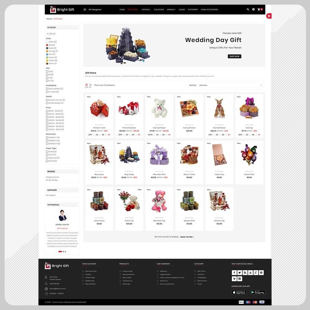 theme - Presentes, Flores & Comemorações - Bright Gift – Gift Super Store - 3