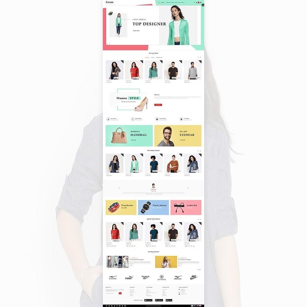 theme - Fashion & Shoes - Kenzo Stylo Fashion Shop - 3