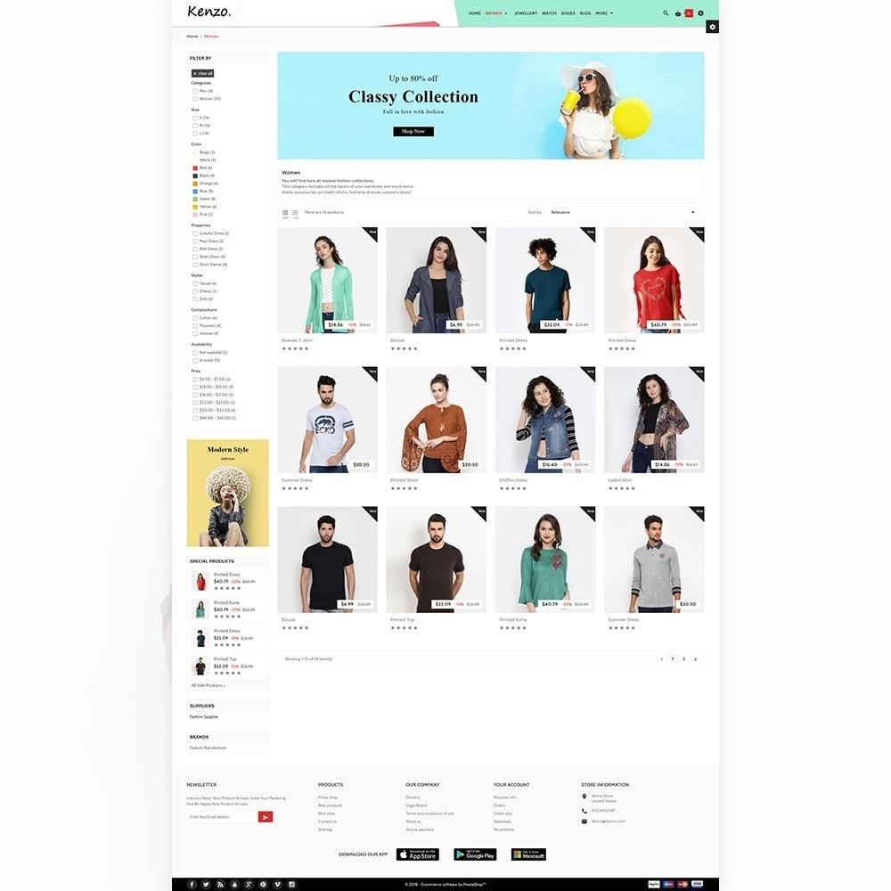theme - Fashion & Shoes - Kenzo Stylo Fashion Shop - 4