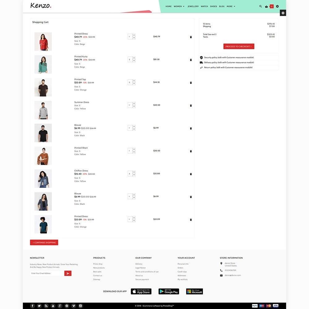 theme - Fashion & Shoes - Kenzo Stylo Fashion Shop - 5