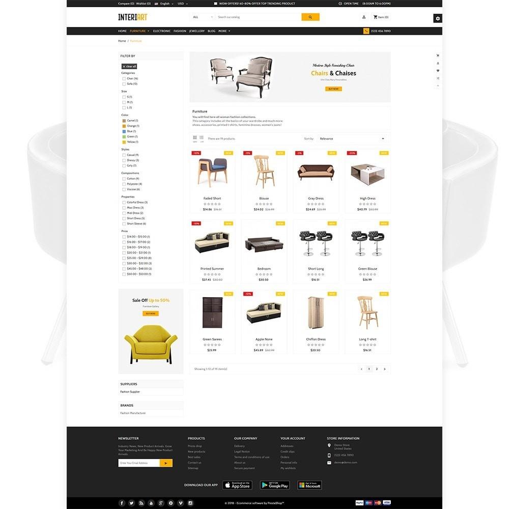 theme - Home & Garden - Interi Art - Designer Furniture Shop - 3