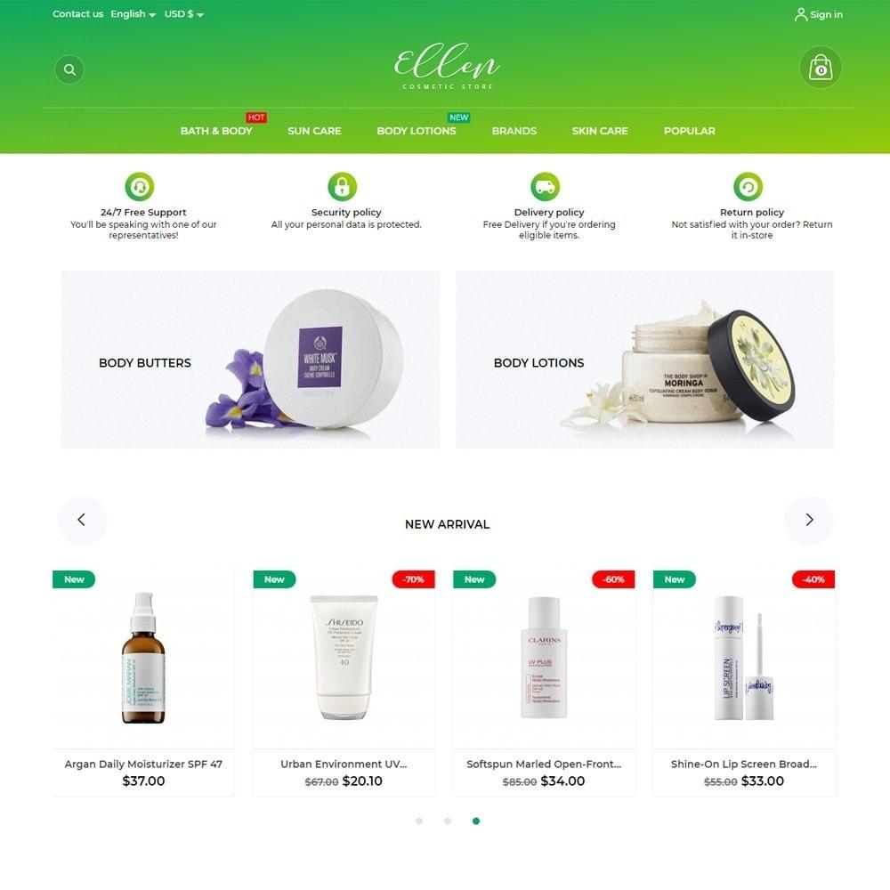 theme - Health & Beauty - Ellen Cosmetics - 2