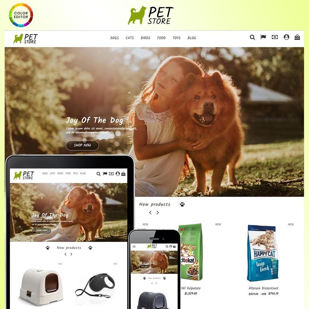 theme - Animali - Pet Store - 1