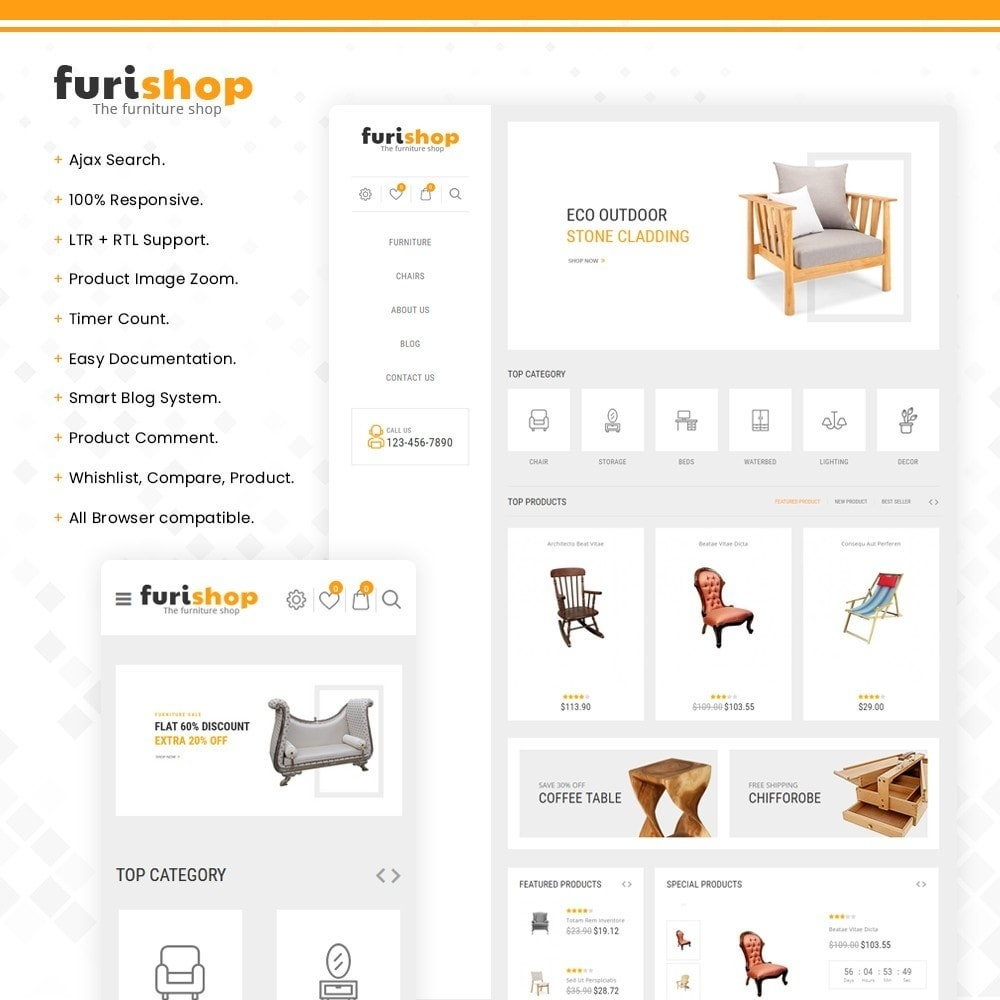 theme - Maison & Jardin - furishop – Multipurpose Furniture Store - 1