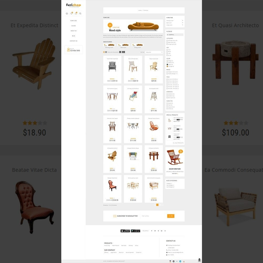 theme - Maison & Jardin - furishop – Multipurpose Furniture Store - 3