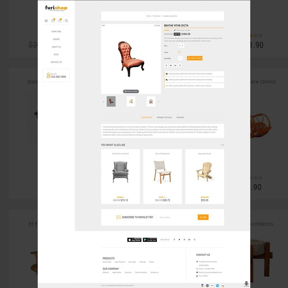 theme - Maison & Jardin - furishop – Multipurpose Furniture Store - 5