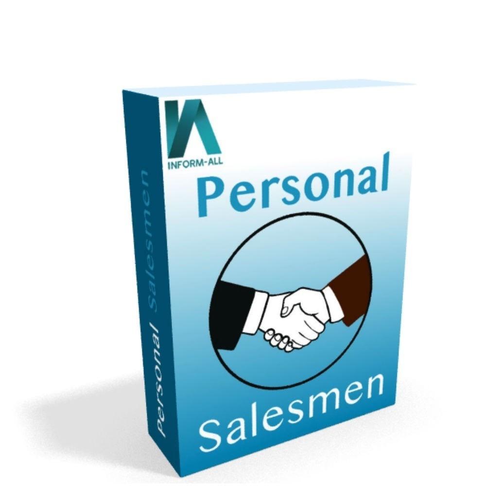 module - Administração dos Clientes - Personal Salesmen - 1