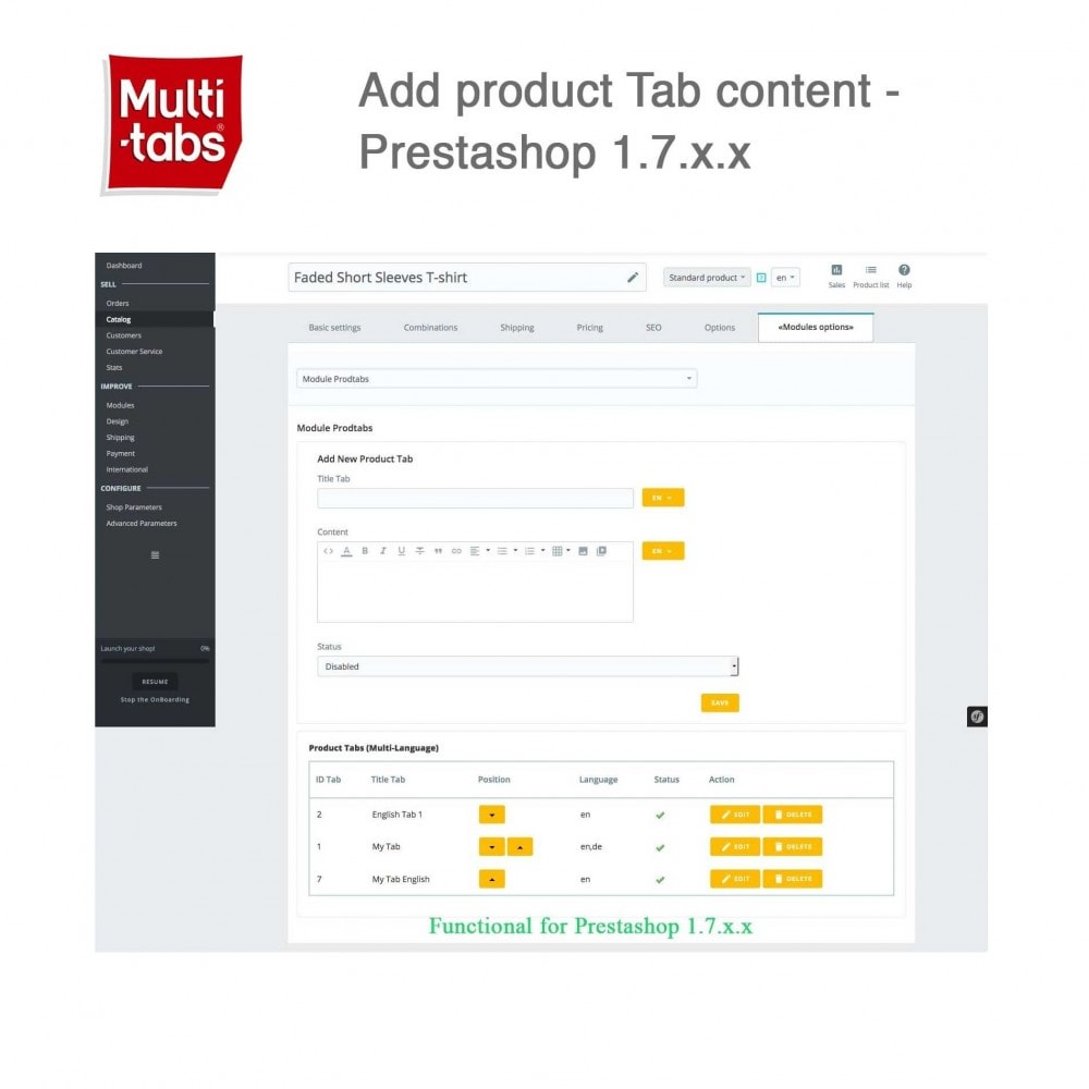 module - International & Localization - Product Tabs (Multi-Language, Responsive, 12 styles) - 2