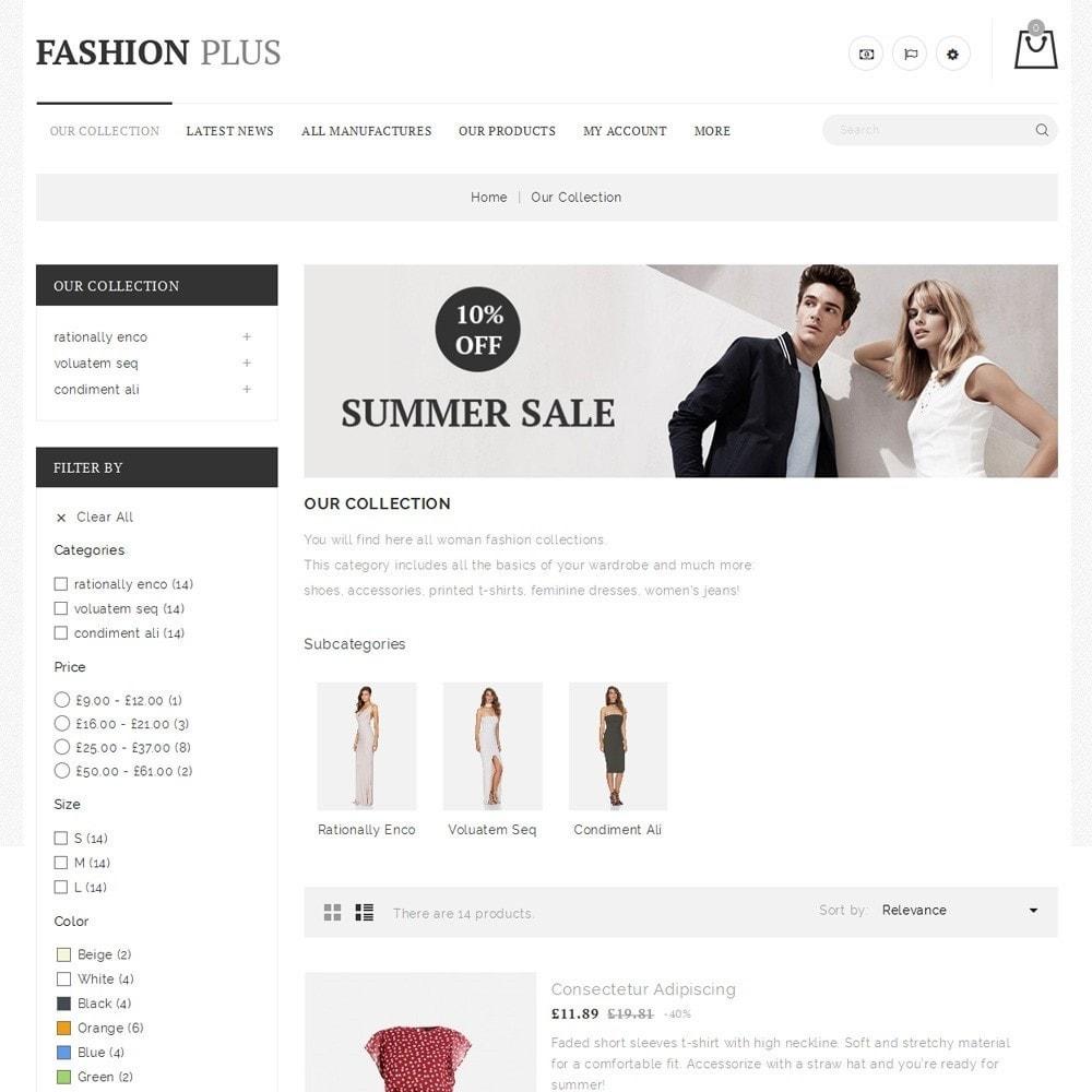 theme - Fashion & Shoes - Fashion Plus - The Fashion Store - 5