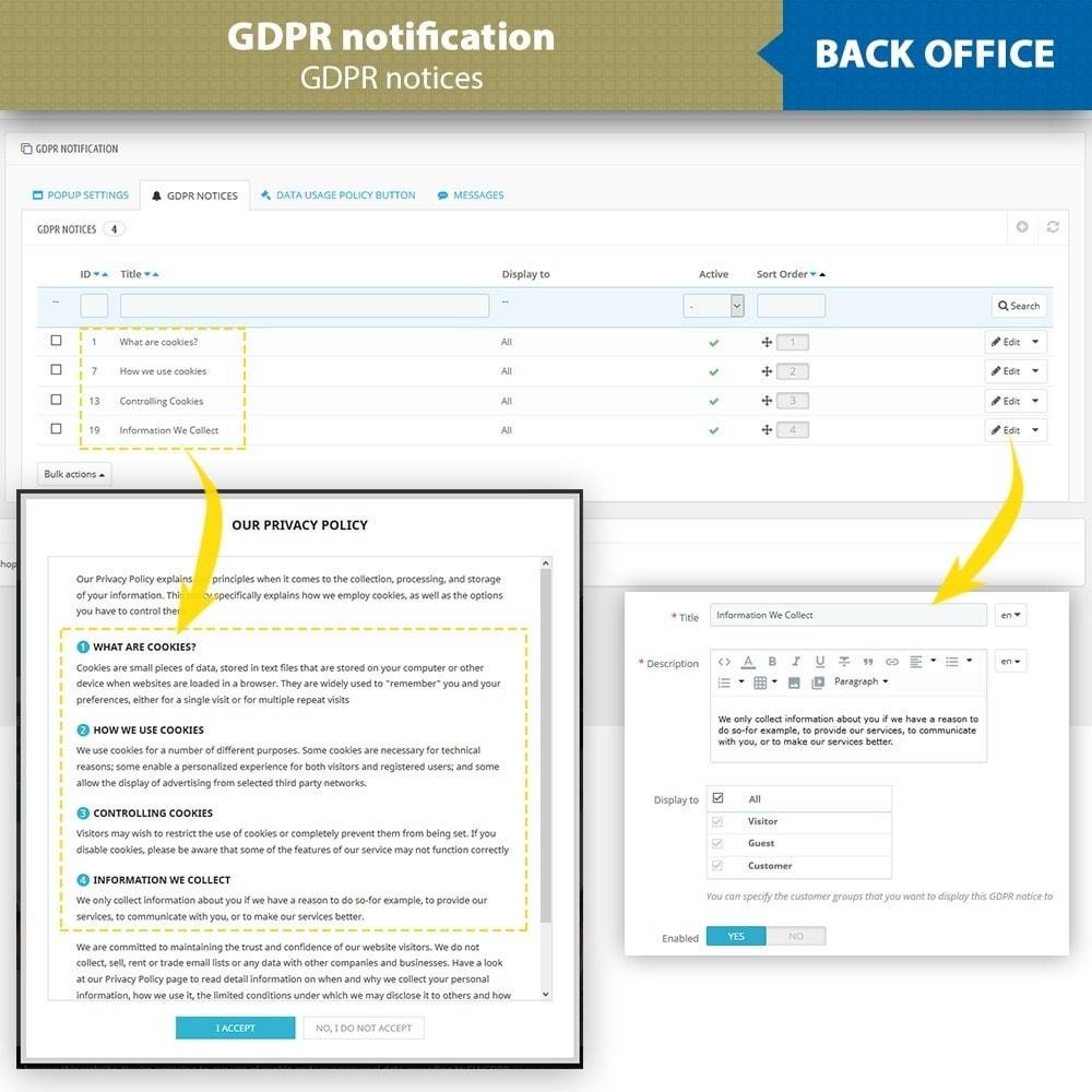 module - Législation - GDPR - 13