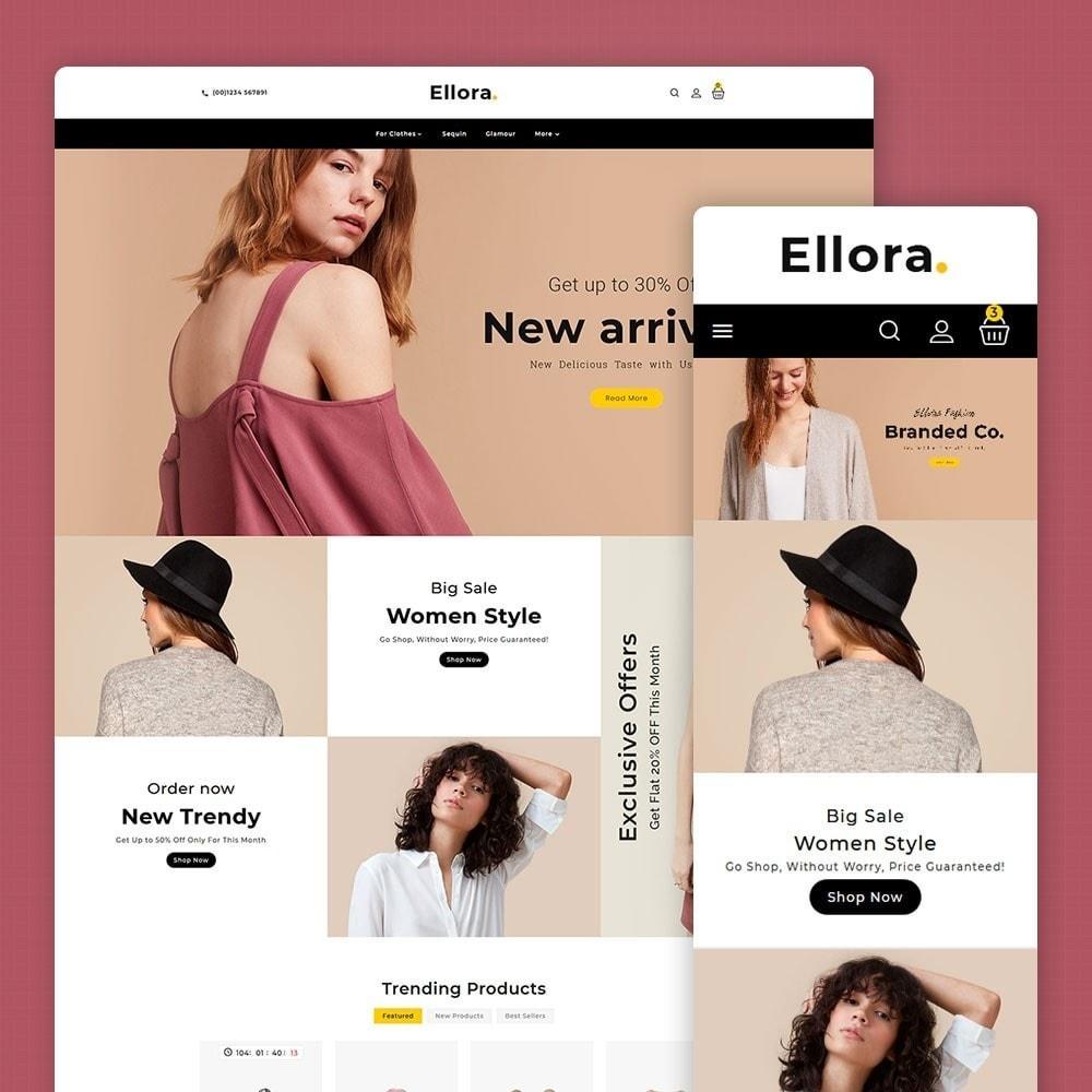 theme - Fashion & Shoes - Ellora Fashion Apparels - 1