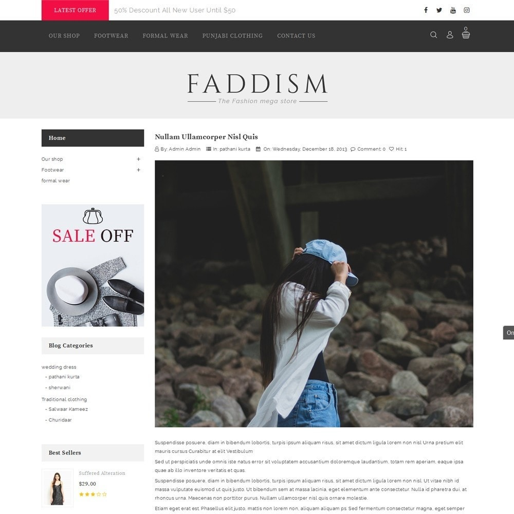 theme - Мода и обувь - Faddism - The Fashion Shop - 7