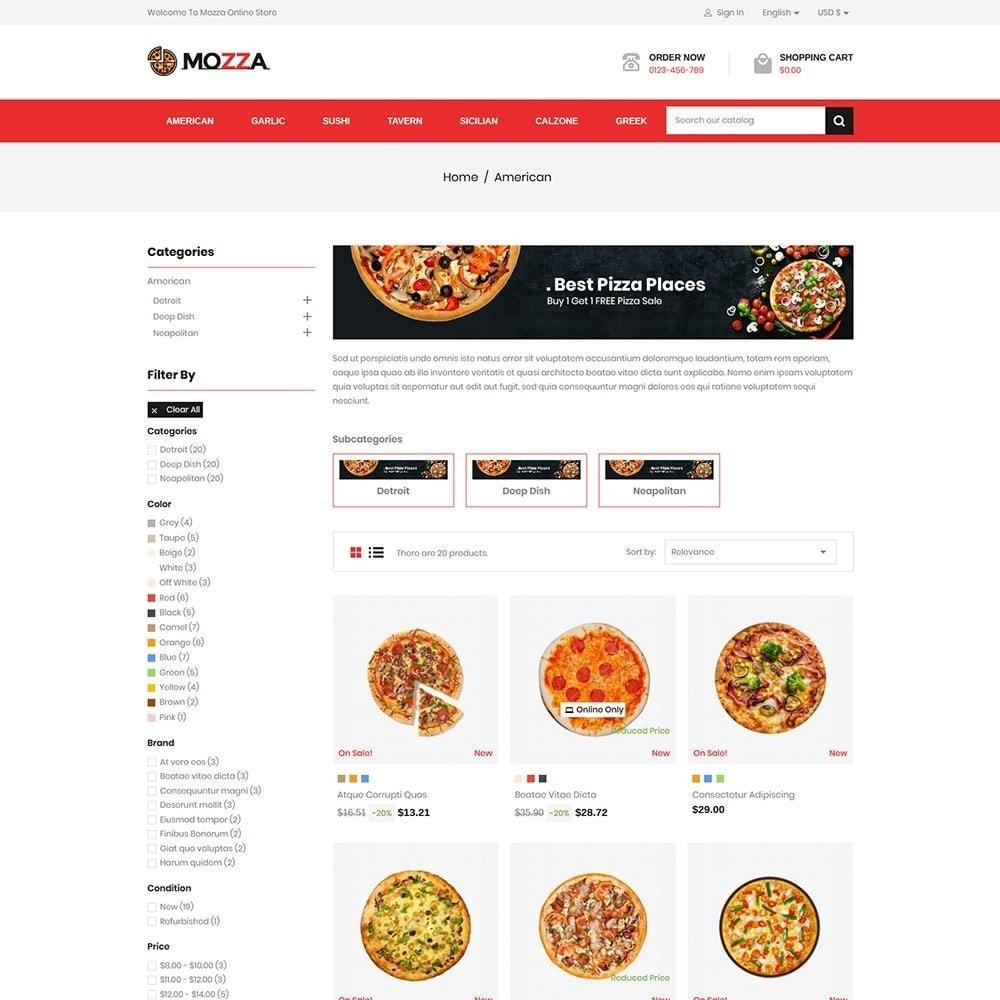 theme - Alimentation & Restauration - Mozza - Pizza Online Store - 3