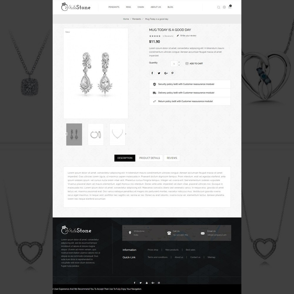 theme - Jewelry & Accessories - Whitestone– Multipurpose jewellery Store - 5