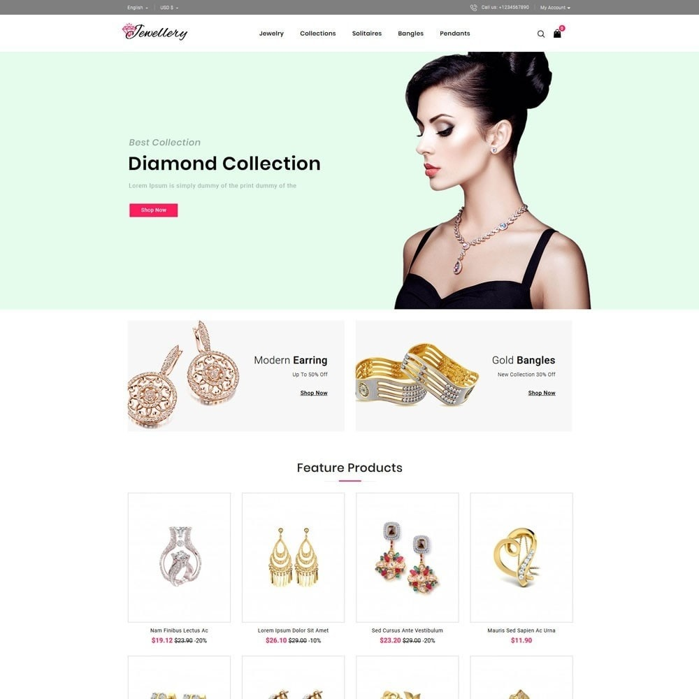 theme - Jewelry & Accessories - Jwellery Store - 2