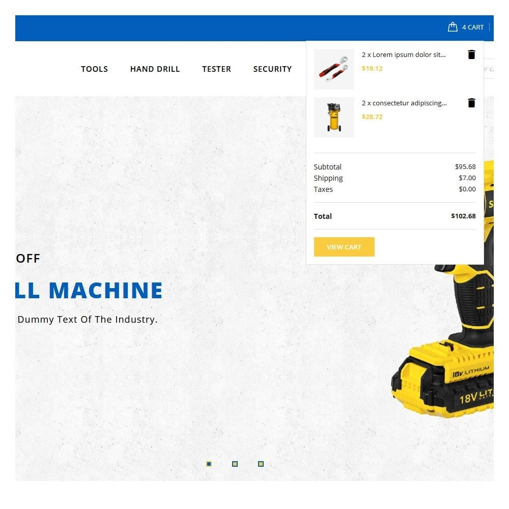 theme - Electronics & Computers - Precision Tools Shop - 7