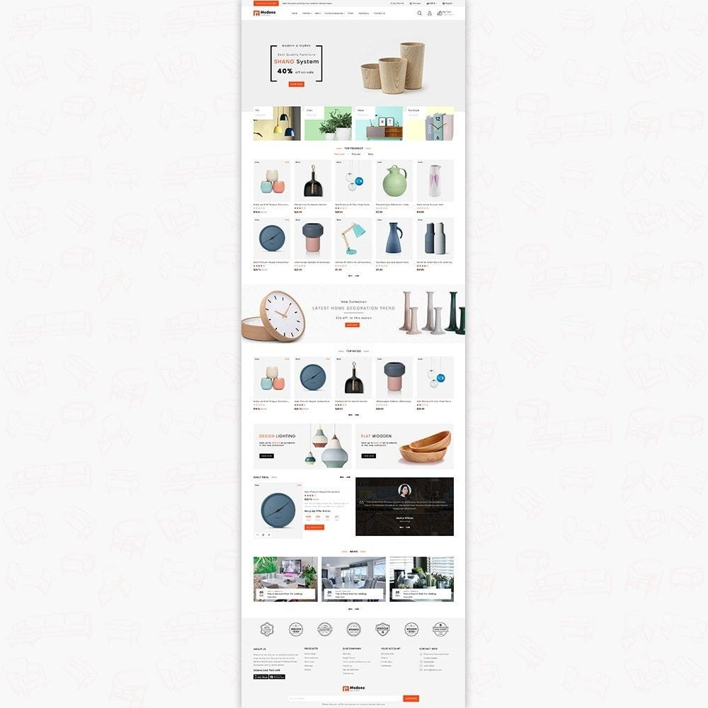 theme - Home & Garden - Modono-  The Furniture Store - 2