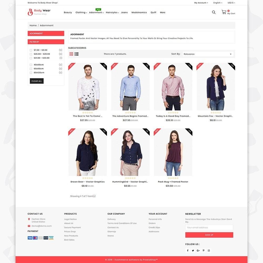 theme - Fashion & Shoes - BodyWear - The Fashion Store - 3