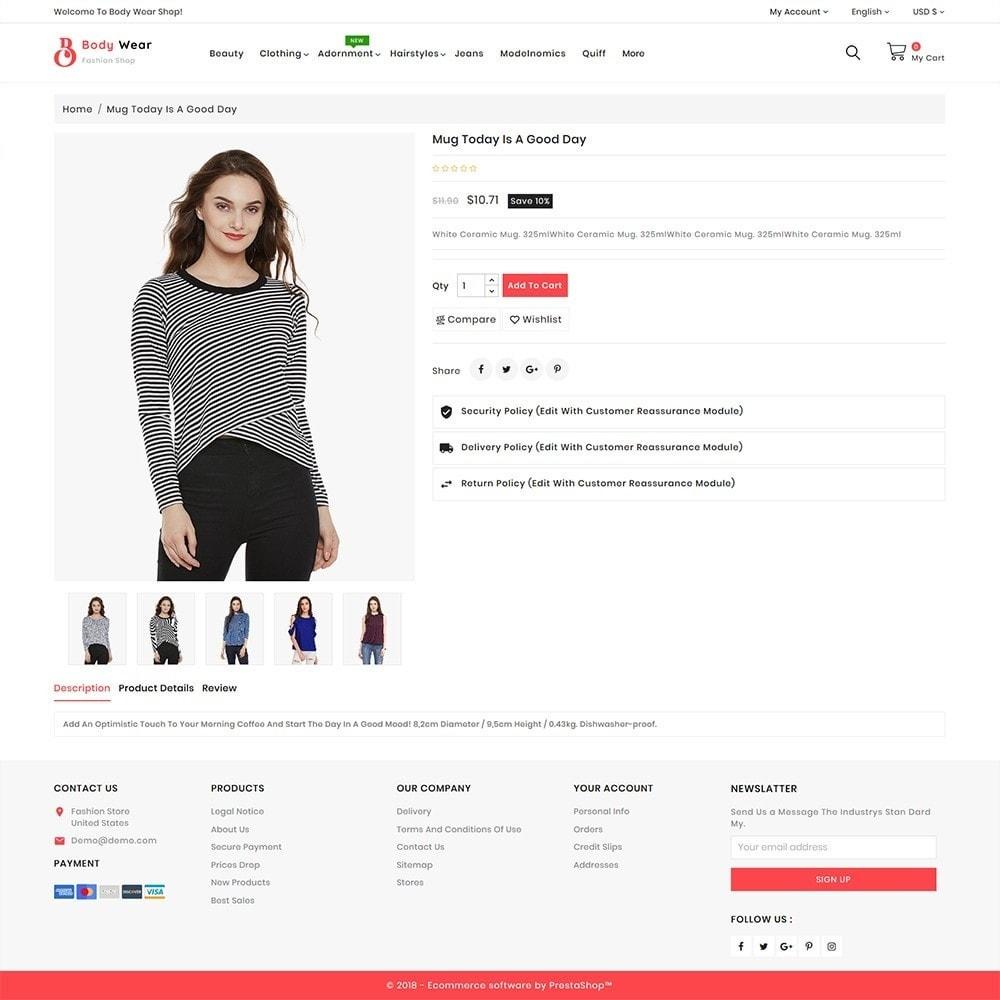 theme - Fashion & Shoes - BodyWear - The Fashion Store - 5