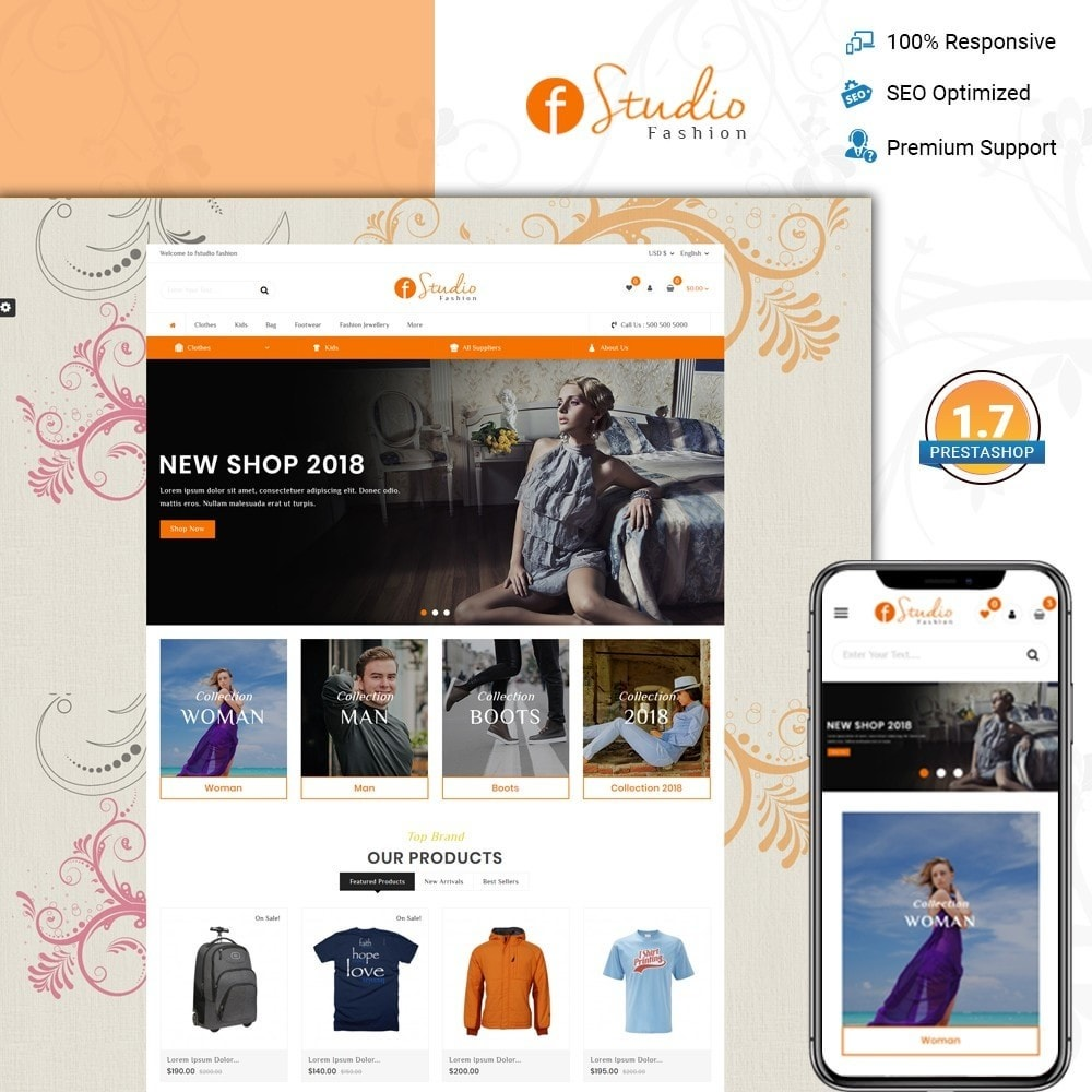 theme - Fashion & Shoes - fStudio - Fashion Store - 1