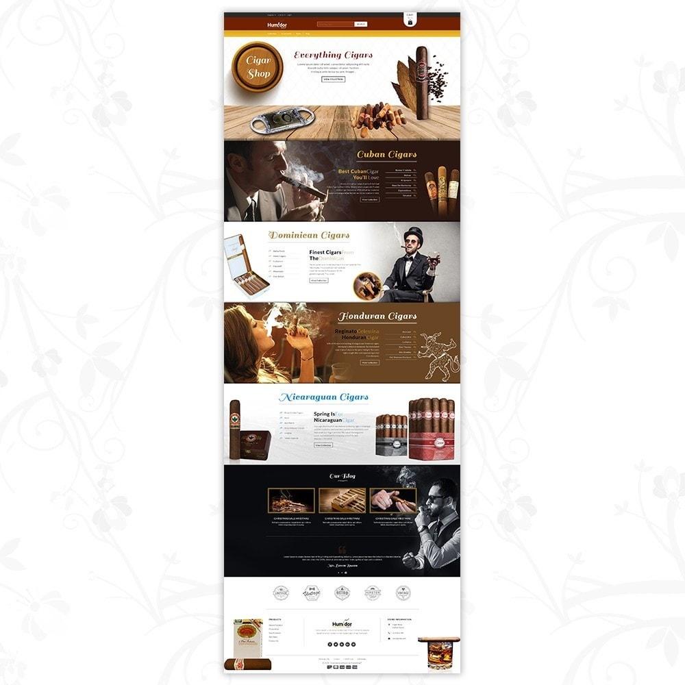 theme - Напитки и с сигареты - Humidor - Cigar Store - 2