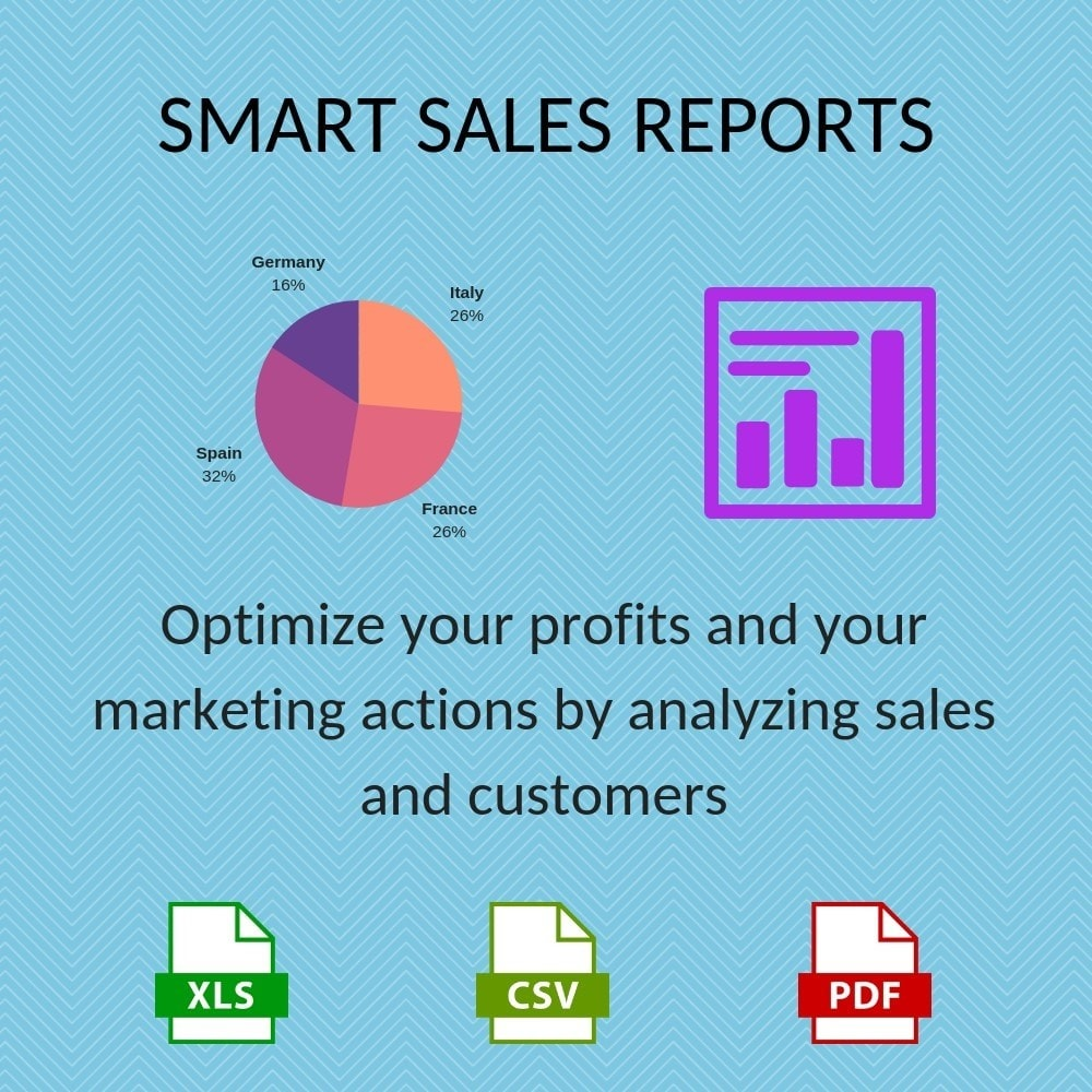 module - Import & Eksport danych (csv, pdf...) - Smart Sales Reports - 1