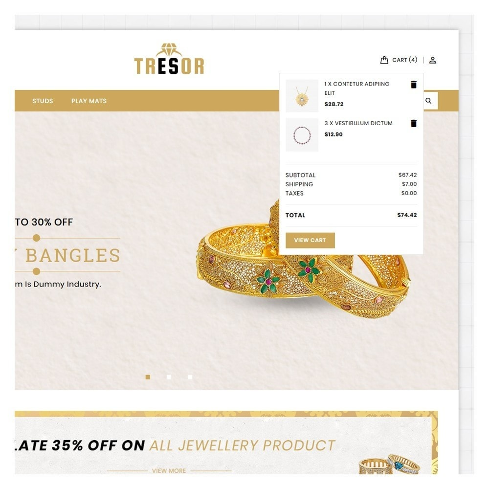theme - Jewelry & Accessories - Tresor Jewellery Shop - 7