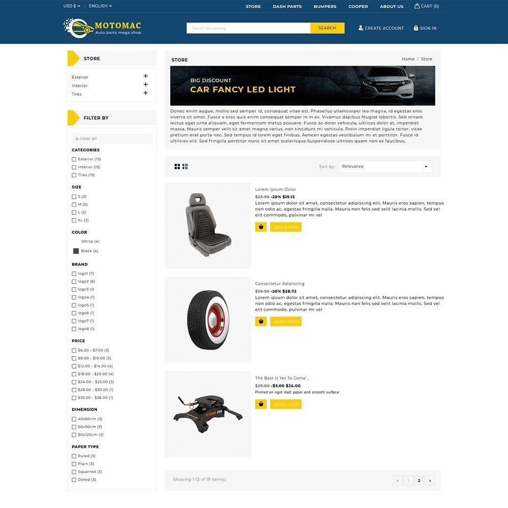 theme - Automotive & Cars - Motomac Autoparts Shop - 4