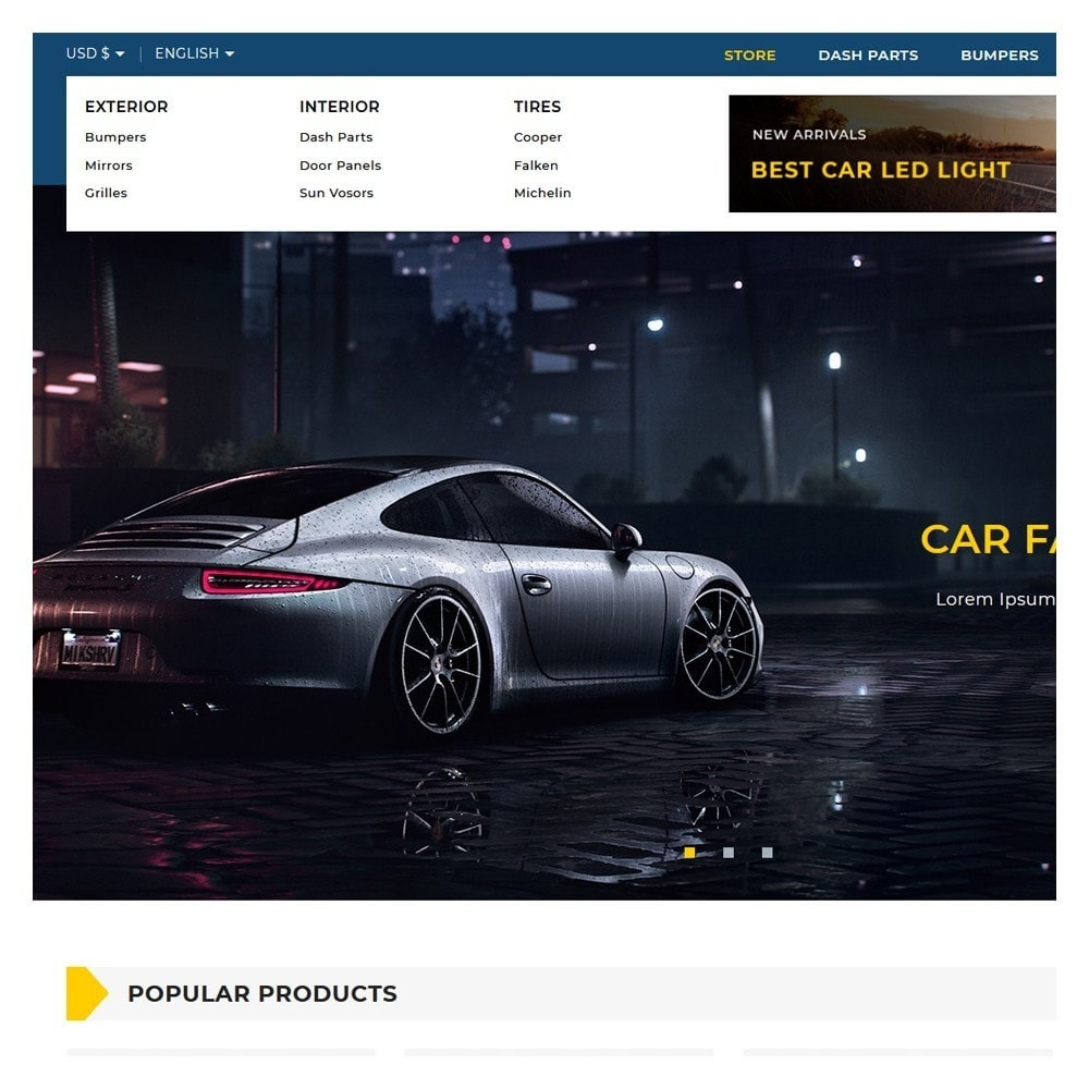 theme - Automotive & Cars - Motomac Autoparts Shop - 8