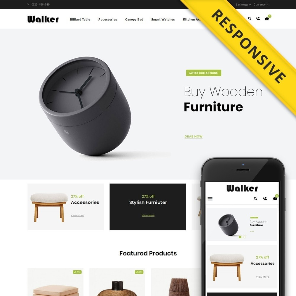 theme - Casa & Jardins - Walker Furniture Store - 1