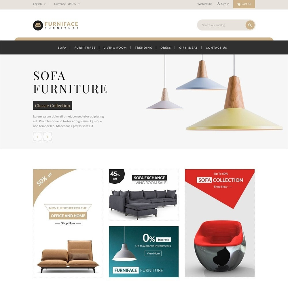 theme - Casa & Jardins - Furnitures - Furniture Online Store - 2