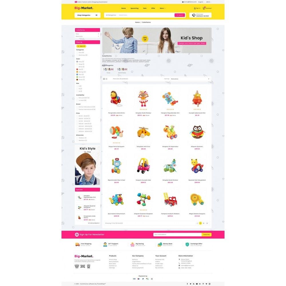 theme - Kids & Toys - Mega Market Kid Toys - 3