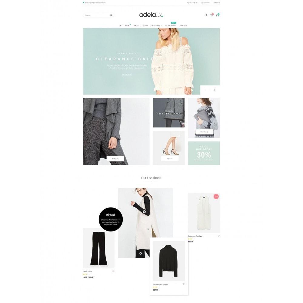 theme - Fashion & Shoes - Adelaux Fashion - 2