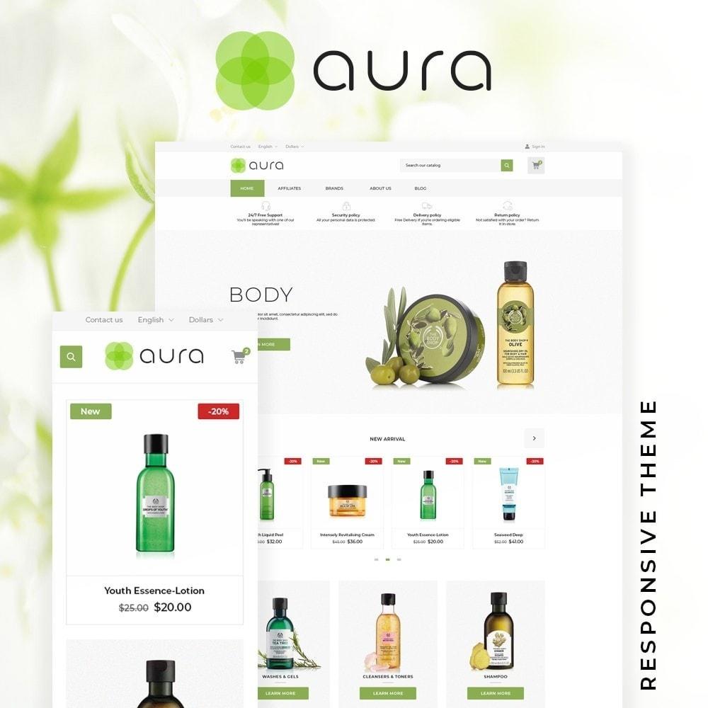 theme - Health & Beauty - Aura Cosmetics - 1