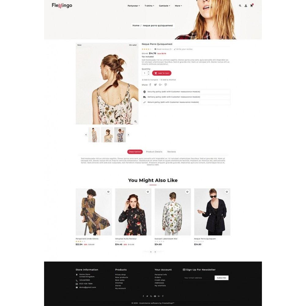 theme - Fashion & Shoes - Floral Flamingo & Fashion Apparels - 5