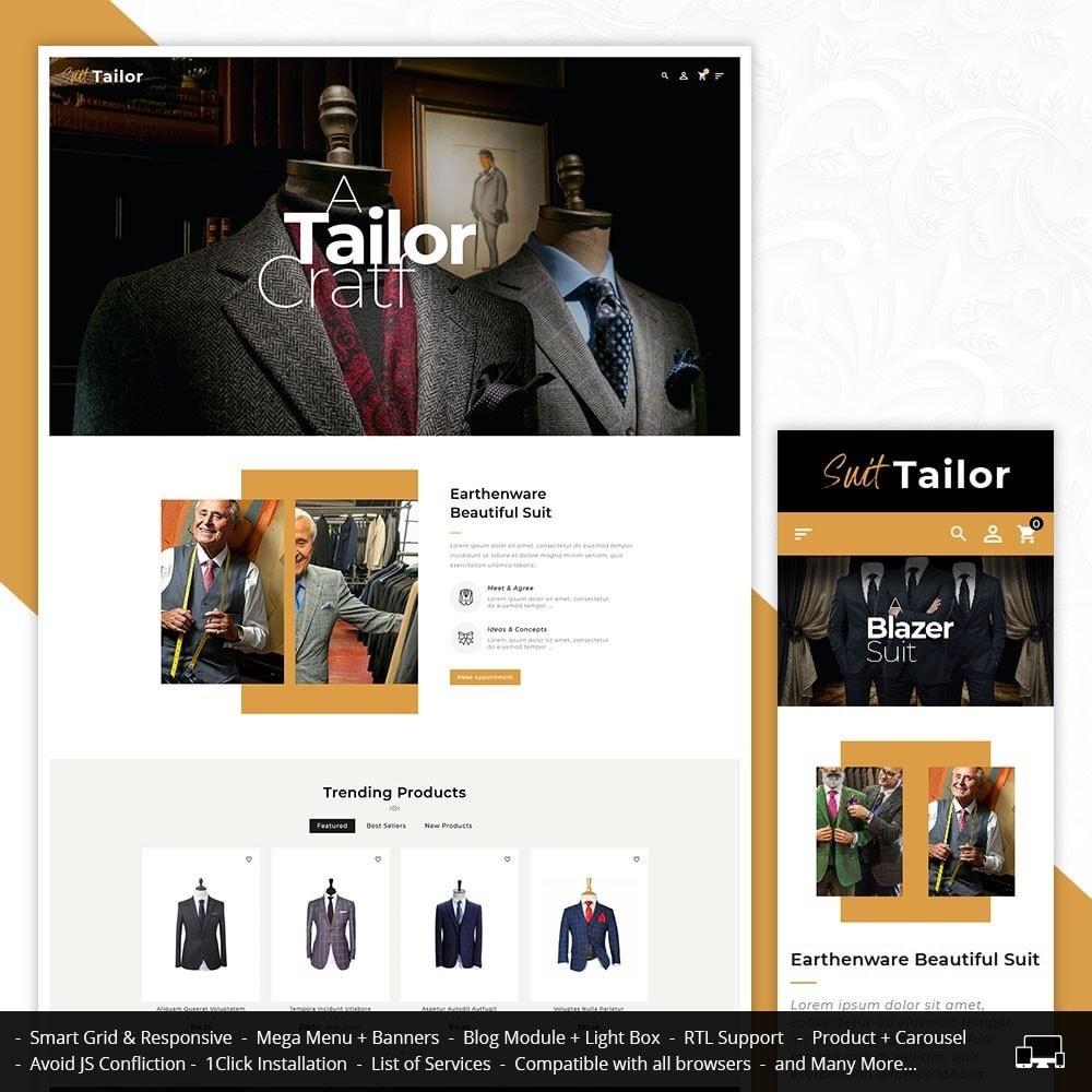 theme - Fashion & Shoes - Floral Suit & Tailor - 1