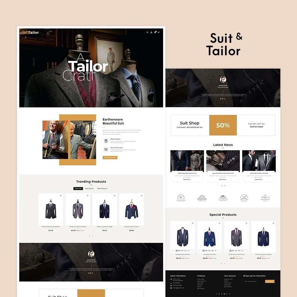 theme - Fashion & Shoes - Floral Suit & Tailor - 2