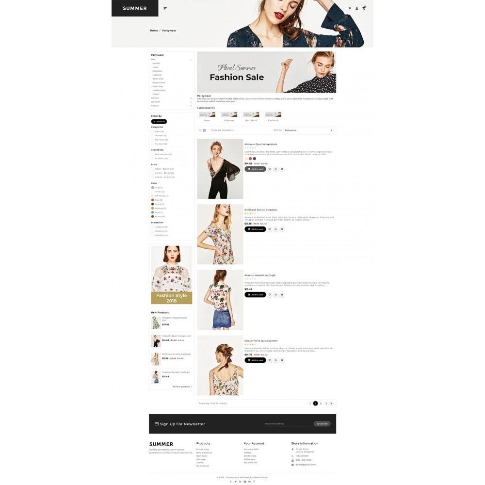 theme - Fashion & Shoes - Floral Fashion - Summer Shop - 4