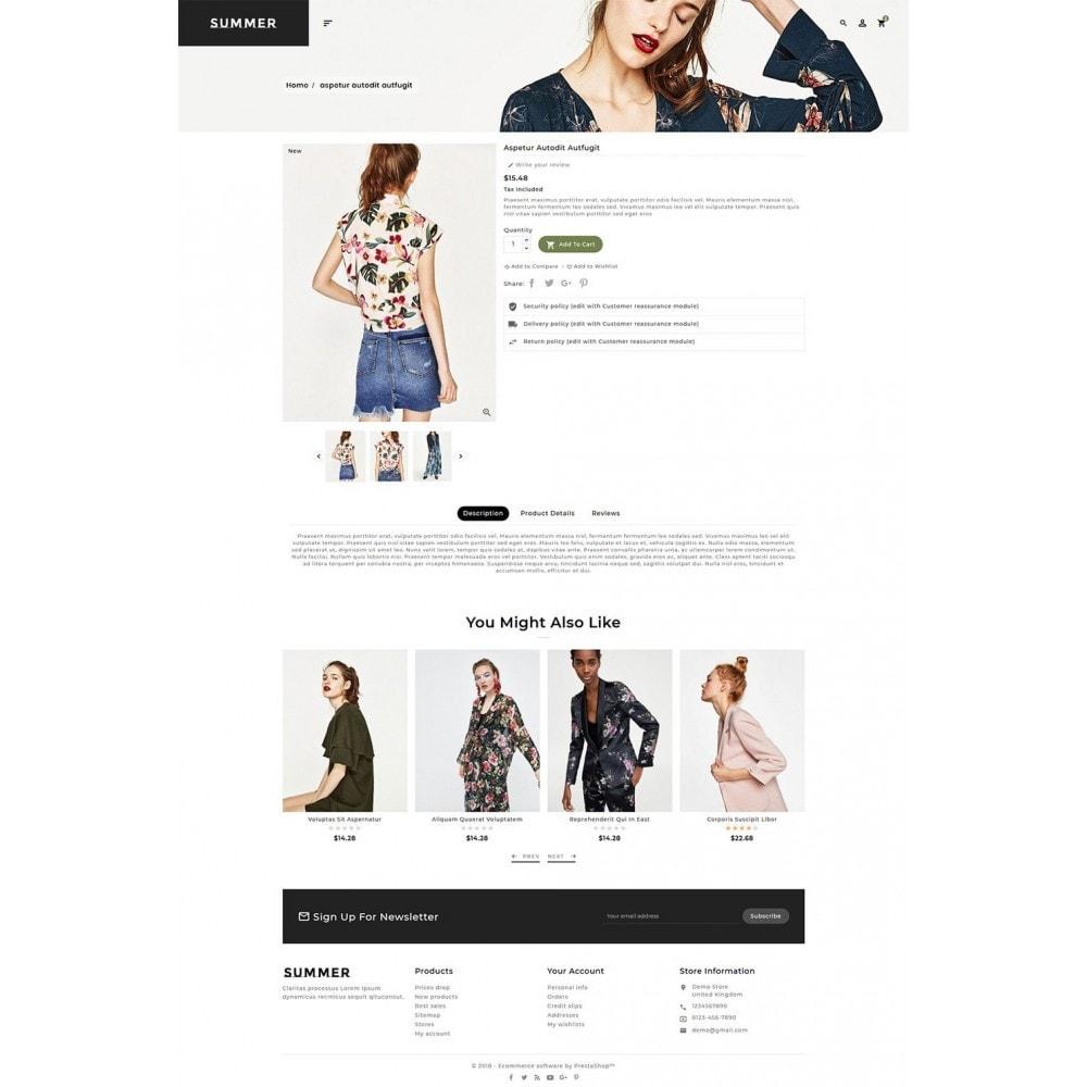 theme - Fashion & Shoes - Floral Fashion - Summer Shop - 5