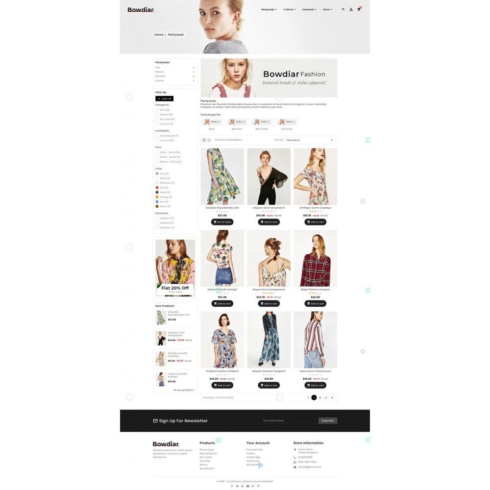 theme - Moda & Obuwie - Bowdiar Fashion & Floral Style - 3