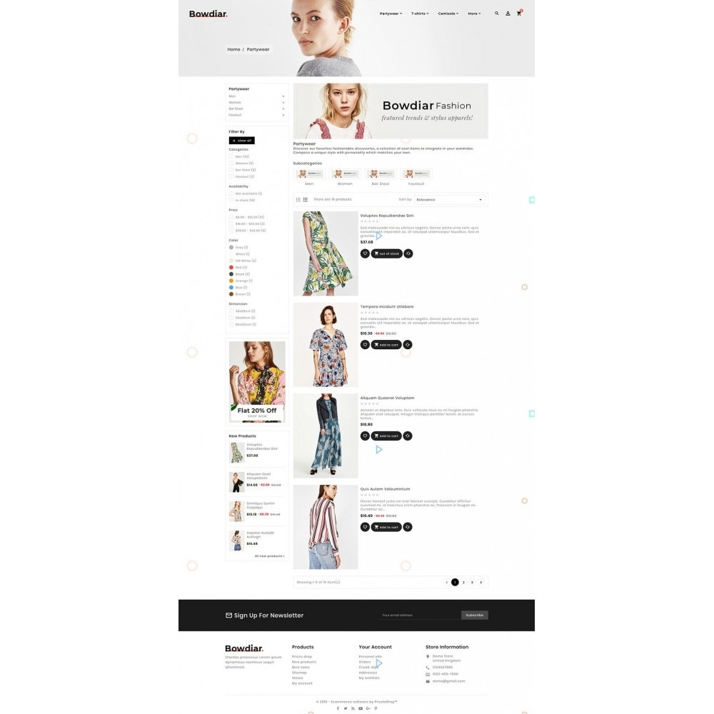 theme - Moda & Obuwie - Bowdiar Fashion & Floral Style - 4